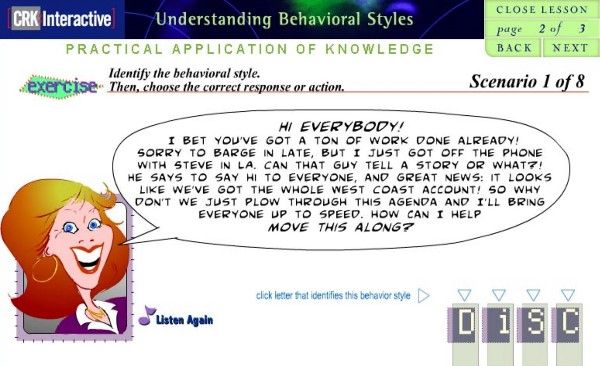 Understanding Behavioral Styles for Customer Service - Online Self-Paced Course
