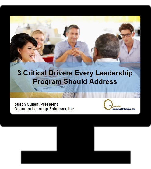 3 Critical Drivers Every Leadership Program Should Address
