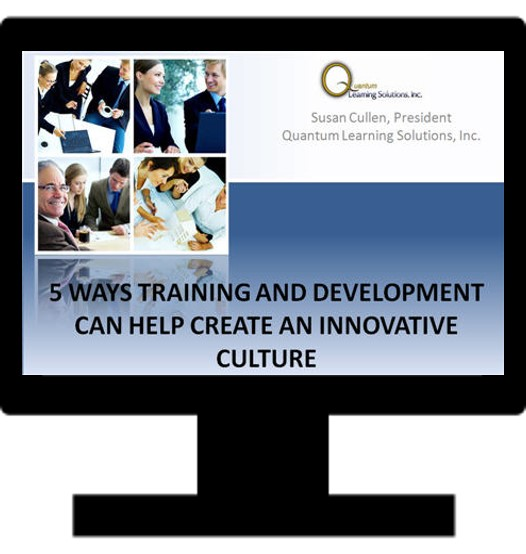 5 Ways Training and Development Can Help Create an Innovative Culture
