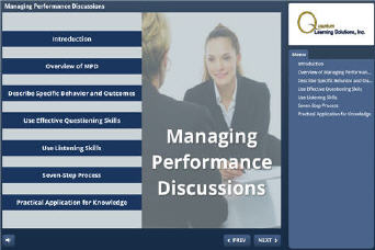 Managing Performance Discussions - eLearning